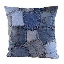 Denim Pocket Cushion