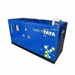 50 kVA TATA Silent Diesel Generator, 3 Phase