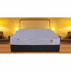 White Plain King Size Bed Mattress, Size: 153 Cm X 203 Cm, Thickness: 10
