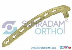 2.7/3.5mm LCP Posteriorlateral Distal Humerus Plate With Lateral Support