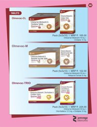 Olmesartan Medoxomil Chlorthalidone and Cilnidipine Tablets