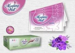 Morning Well Single Wet Wipe With Lavender Fragrance