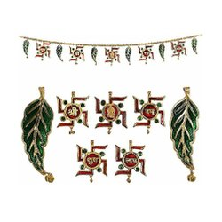 Metal Ganesh Toran / Bandarwal For Door Hanging & Corporate Gifts