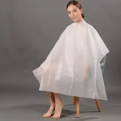 Disposable Hair Cutting Sheet For Salon, For Professional, Large