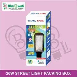20W LED Street Light Packaging Box
