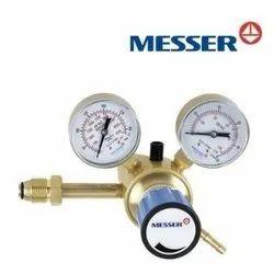 10,20 Or 50 MESSER GAS REGULATOR, For Industrial