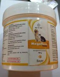 Megaflex Powder 100 MG, For Animals, Grade Standard: Food Grade