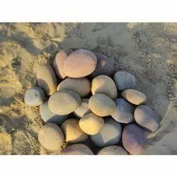Natural Mixed Colour River Pebble
