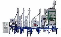 Semi-Automatic 2 TPH RICE MILL Machinery, 5 HP, Three Phase