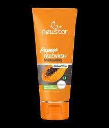 Herbal Neustar Papaya Face Wash, For Skin Purifying, Packaging Size: 100 Ml