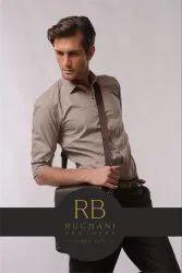 Rughani Brothers Cotton/PC/CVC Men'S Shirt