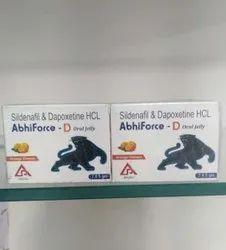 Sildenafil & Dapoxetine Oral Jelly