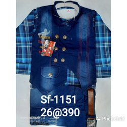 Blue Boy Kid's Suit