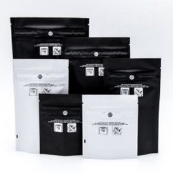 LDPE Printed Opaque Tamper Proof Zip Lock Bags, For Shopping, Thickness: 51 Micron To 125 Micron