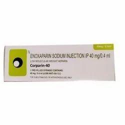 Corparin-40 Enoxaparin Injection 40 mg
