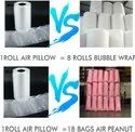 Void Or Gap Filling Air Cushion Bags , Sealed Air Inflatable Void Fill