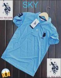Cotton Us Polo T Shirts