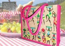 Designer Jute Promotional Bag