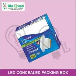 LED Concealed Light Packaging Box