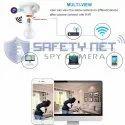 SAFETYNET 4K HD 1080P Wifi P2P Camera Wireless SPY Cam Lamp holder type Covert Monitor DVR Camera