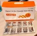 Vitamin C 500 Mg Chewable Tablets