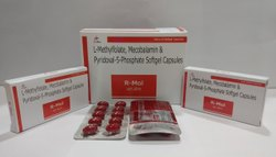 L-Methylfote, Mecobalamin & Pyridoxal-5 Phosphate Soft Gel