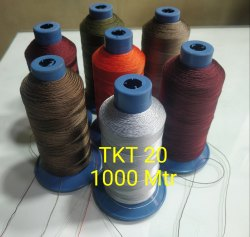 缝纫染色尼龙线tkt20,工业用