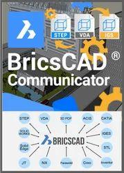 Brickscad Communicator : High-Fidelity 3d Cad Import / Export Software