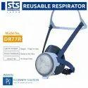 Shigematsu DR77R Half Face Reusable Respirator Mask