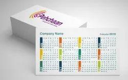 Paper Digital Printing Pocket Calendar, For Promotion