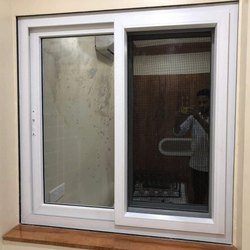 Beezer White UPVC Sliding Glass Door