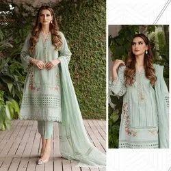 Serene Pure Lawn Salwar Suit