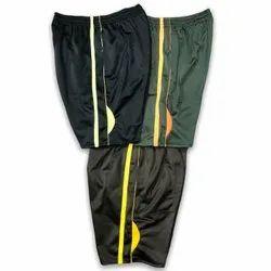 Nylon Black Sports Shorts For Men, Size: L