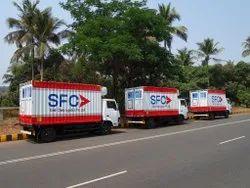 Refrigerated Van Transport Service