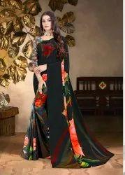 Digital Designer Printed Saree
