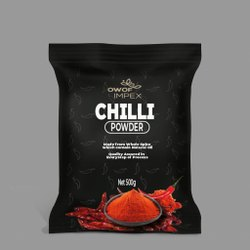 500g Chilli Powder, Packets