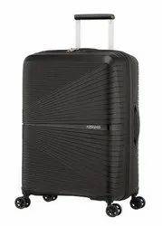4 Polycarbonate American Tourister Airconic 55 Cm Black, For Travelling, 1
