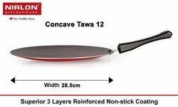 Nirlon Non Stick Aluminium Concave Tawa 28.5 CM