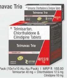 Telmisartan Chlorthalidone and Cilnidipine Tablet