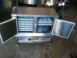 2200watts Stainless Steel Electric Idli Steamer, For Hotel And Restaurant, Size/Dimension: 16x16x28 Inc 6tray