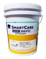 White Asian Paints Smartcare Damp Sheath Exteriors, Packaging Type: Bucket, Packaging Size: 20 Litre