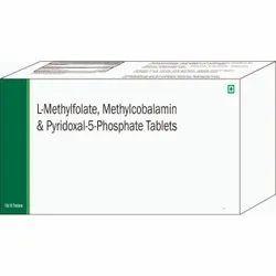 L-Methylfolate, Methylcobalamin, & Pyridoxal-5-Phosphate Tablets