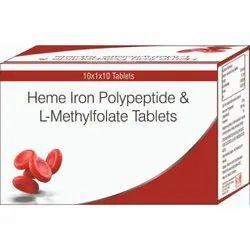 Heme Iron Polypeptide & L-Methylfolate Tablets