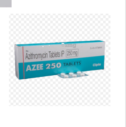 AZEE 250 Azythromycin Tablets IP 250 mg