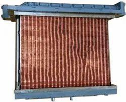 6 Pass EMD Locomotive Rail Loco Engine Cooler Heat Exchanger, For Industrial
