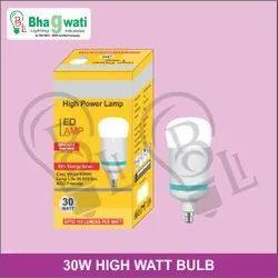 30W High Watt Bulb (Driver Based With Rocket Body)