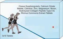 Cissus Quadrangularis, Calcium Citrate Malte,extract  Tablets