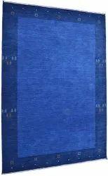 Rectangle Blue FAF00321 Hand Loom Faf Carpet