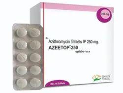 Azeetop 250 mg Azithromycin Tablets
