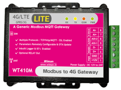 Modbus to 4G Gateway LITE (WT410M)